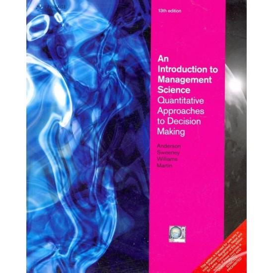 BuyAn Introduction To Management Science: Quantitative